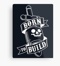 Master Builders only Metal Print