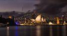 Sydney Opera at the Bridge by yolanda