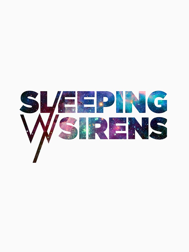 Sleeping With Sirens Logo Galaxy Classic T Shirt By Thelastkilljoy