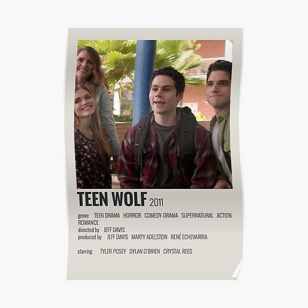 Teen Wolf Minimaliste Poster