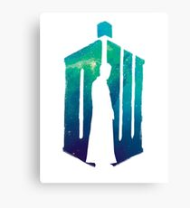 Dr Who - 10th  Canvas Print