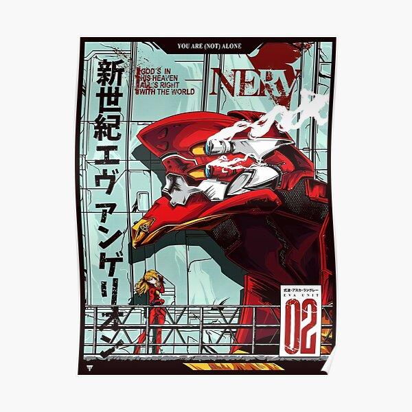 Neon Genesis Evangelion Unit-02 Póster