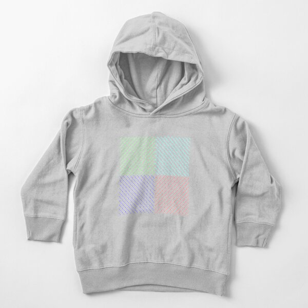 Pattern Toddler Pullover Hoodie