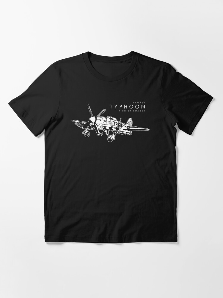 Alternate view of Hawker Typhoon Fighter-bomber Essential T-Shirt