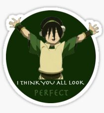 Toph The Perfect Sticker