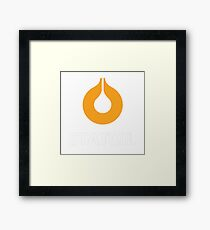 STATOIL RACING LUBRICANT Framed Print