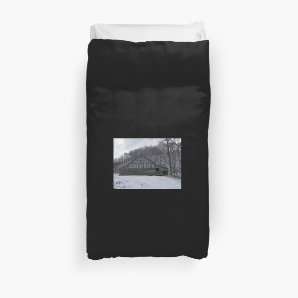 See Rock City on Hwy 64 Duvet Cover