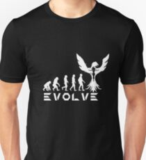 Evolution of X-Man - Phoenix Unisex T-Shirt