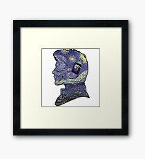 doctor who van gogh Framed Print