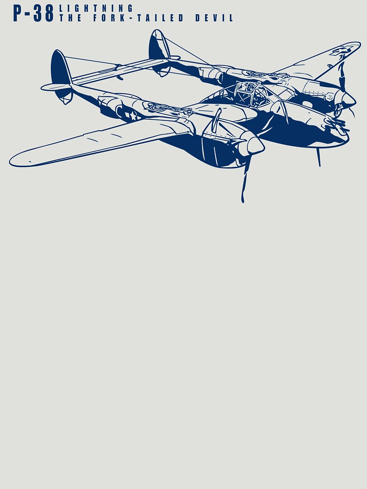 P-38 Lightning by b24flak