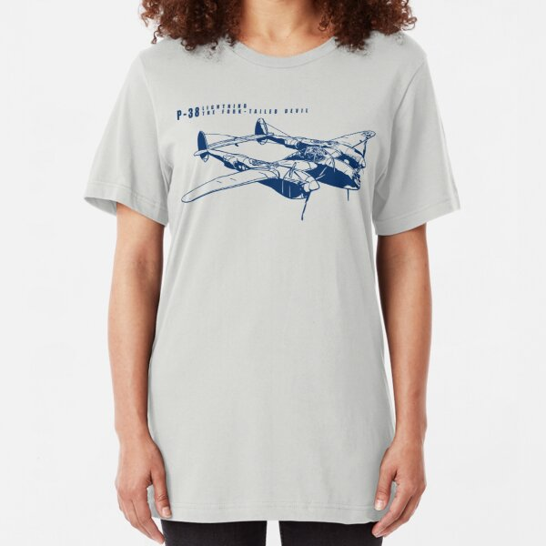 P-38 Lightning Slim Fit T-Shirt