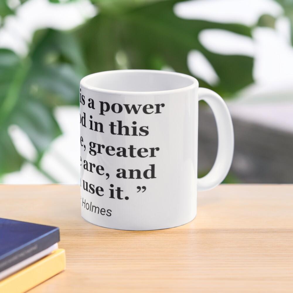 Ernest Holmes quote Mug