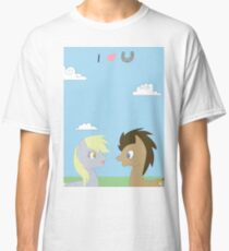 Derpy and Doctor Classic T-Shirt