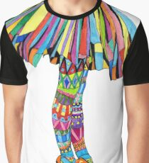 Happy Ballerina Graphic T-Shirt