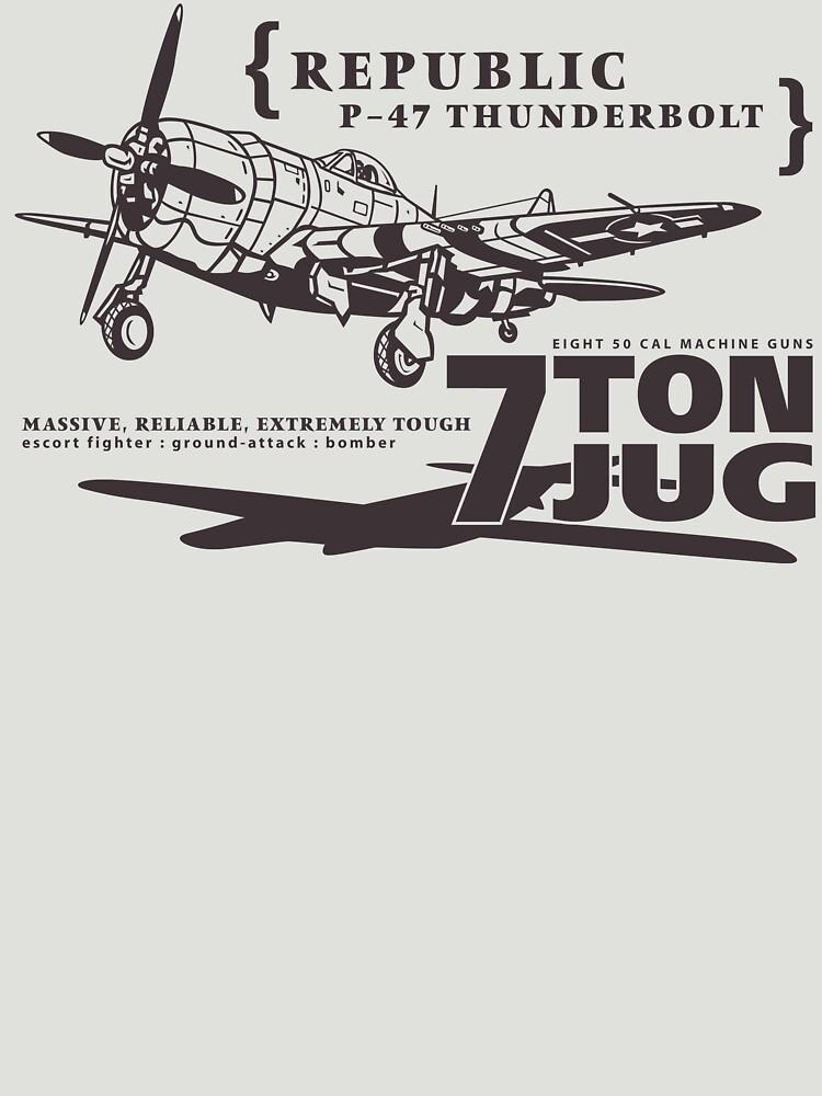 P-47 Thunderbolt by b24flak