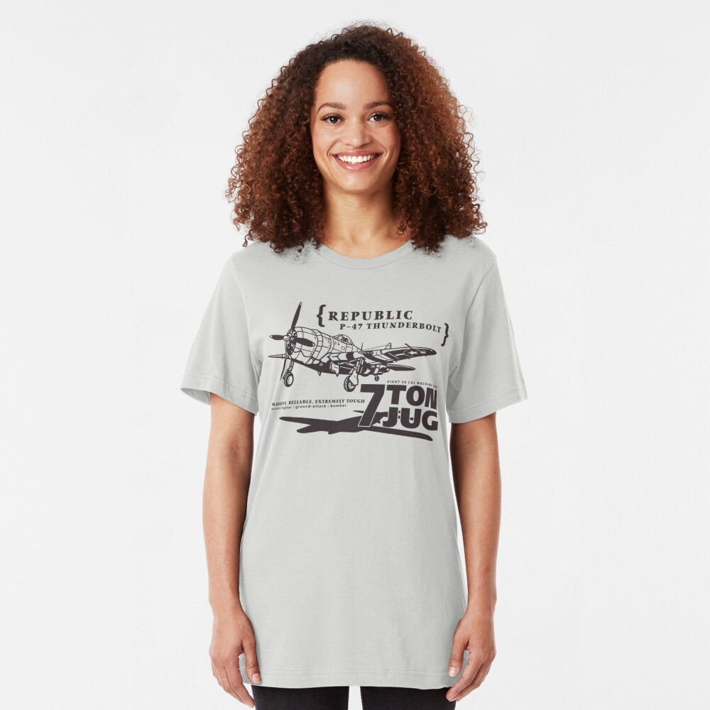 P-47 Thunderbolt Slim Fit T-Shirt