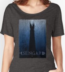 Isengard Poster Women's Relaxed Fit T-Shirt