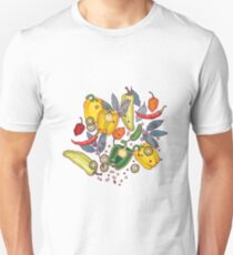 hot & spicy 2 Unisex T-Shirt