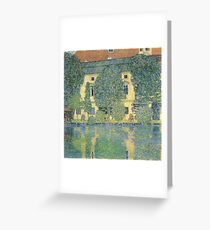 Klimt - The Schloss Kammer On The Attersee Iii Greeting Card
