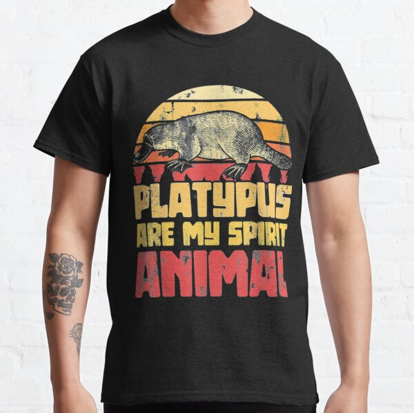 Platypus Is My Spirit Animal Platypus Classic T-Shirt