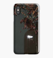 Autumn Bottle and Twigs iPhone Case