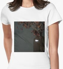 Autumn Bottle and Twigs Women's Fitted T-Shirt