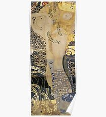 Gustav Klimt  - Water Serpents Poster