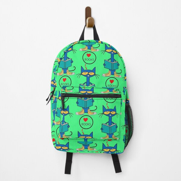 Pete the cat love books Backpack