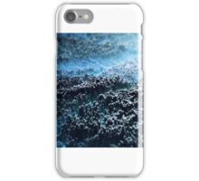 Abstract landscape blue iPhone Case/Skin