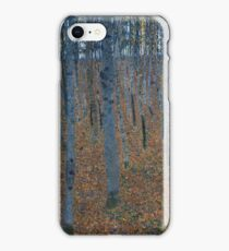 Klimt - Beech Grove . Gustav Klimt - Landscape . Austrian Trees iPhone Case/Skin