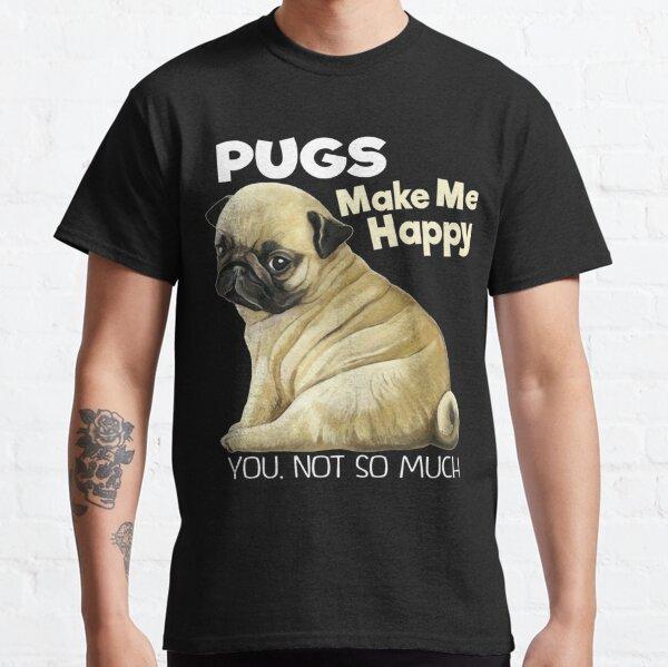 Pug Sweater Pug Funny Gifts Classic T-Shirt