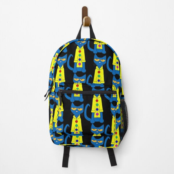 Pete the cat in his yellow vest Backpack