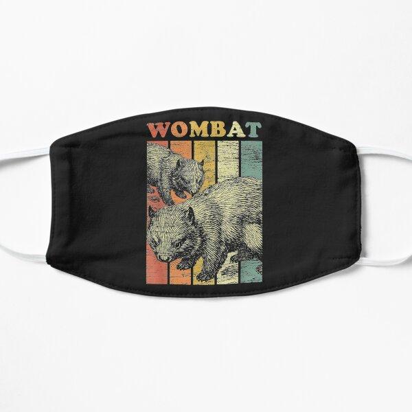 Retro Wombat Flat Mask