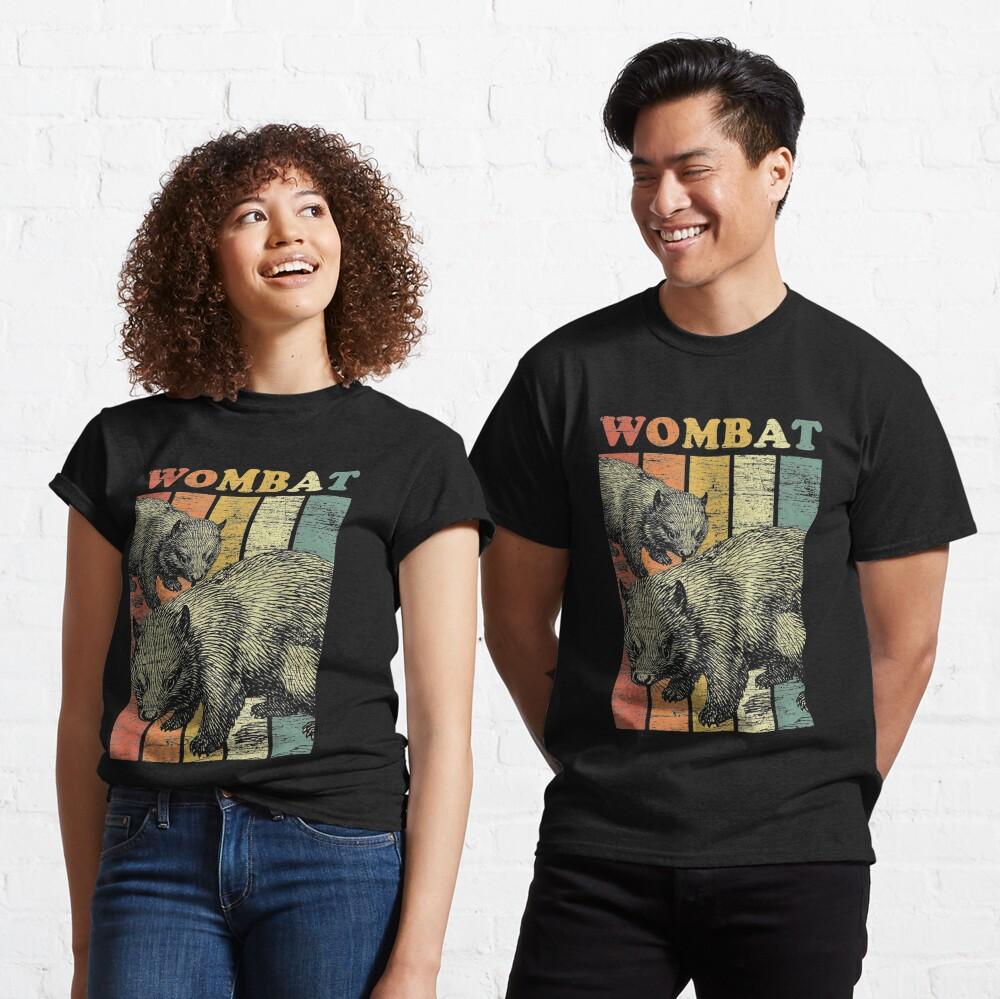 Retro Wombat Classic T-Shirt