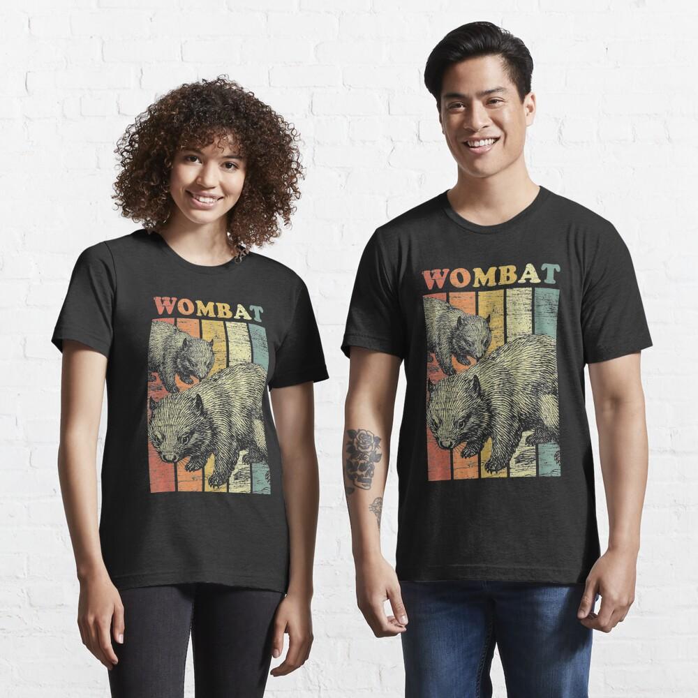 Retro Wombat Essential T-Shirt