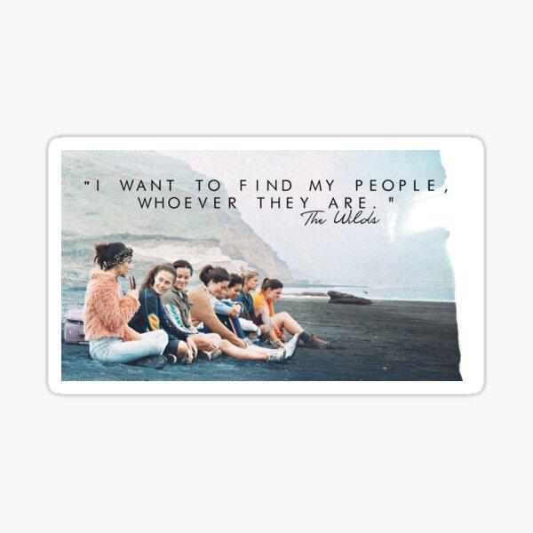 The Wilds Sticker