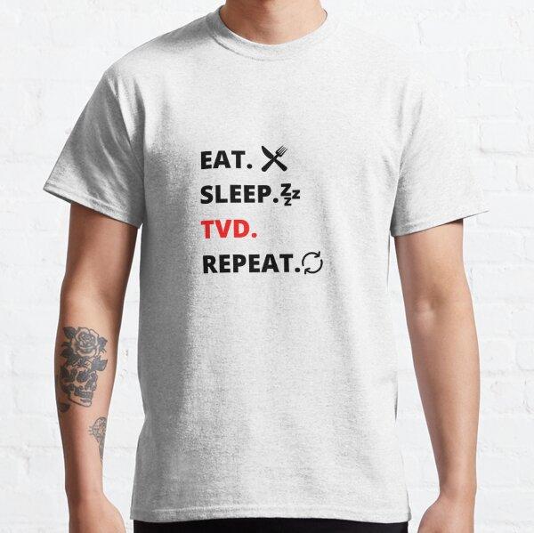 COMER. DORMIR. TVD. REPETIR. Camiseta clásica