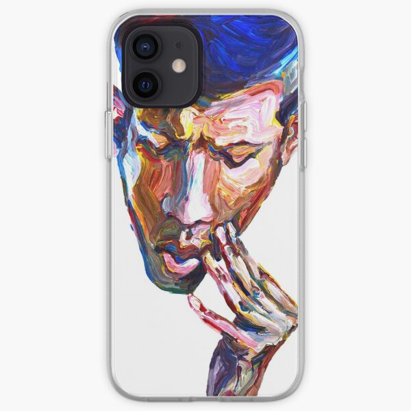 Doubt - Male figurative iPhone Soft Case
