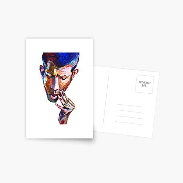 Doubt - Male figurative Postcard