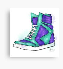 High Top Canvas Print