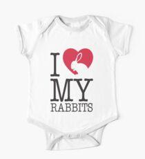 I love my rabbits One Piece - Short Sleeve