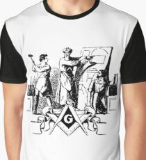 RELIGIOUS AND MORAL BEAUTIES  of  FREEMASONRY Graphic T-Shirt