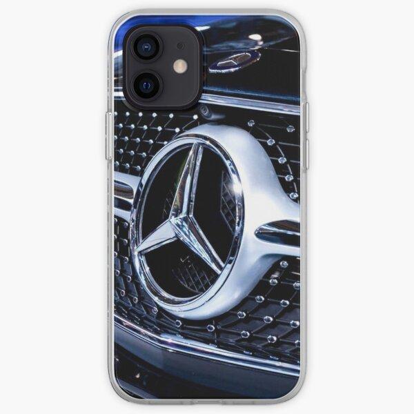 Mercedes Benz noire Coque souple iPhone