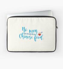 No men - Just chinese food - Gilmore Girls Laptop Sleeve