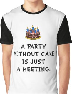Cake Meeting Graphic T-Shirt