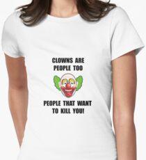Clown Kill Women's Fitted T-Shirt