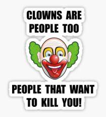 Clown Kill Sticker