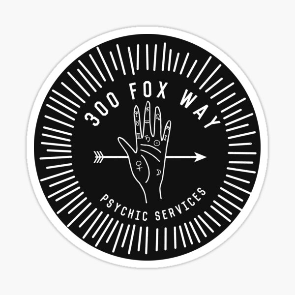 fox way Sticker