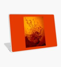 Golden flowers Laptop Skin