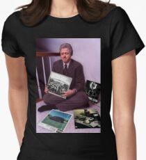 Camiseta entallada para mujer Buen chico M.a.a.d Clinton